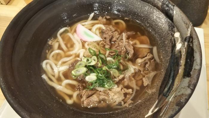 饂飩 和暢-肉うどん780円